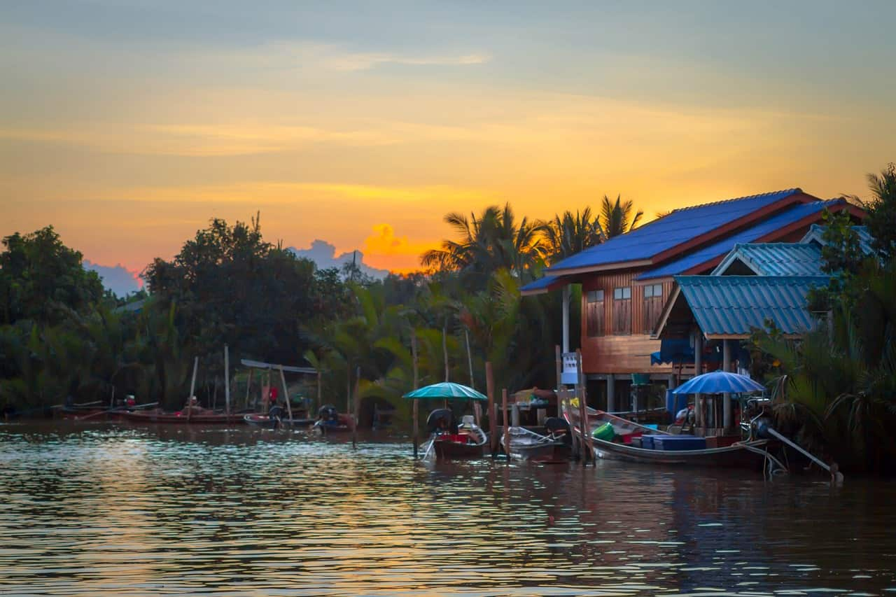 backpacking itinerary Thailand
