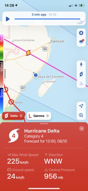 hurricane season for mexico