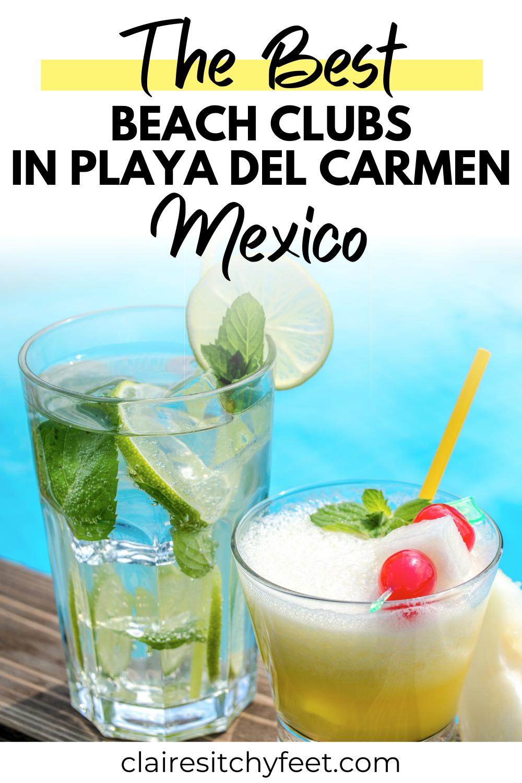 best beach clubs in Playa del carmen