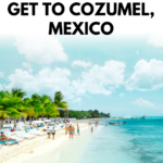 How To Get To Cozumel - Cancun To Cozumel