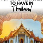Top 10 Adventures in Thailand