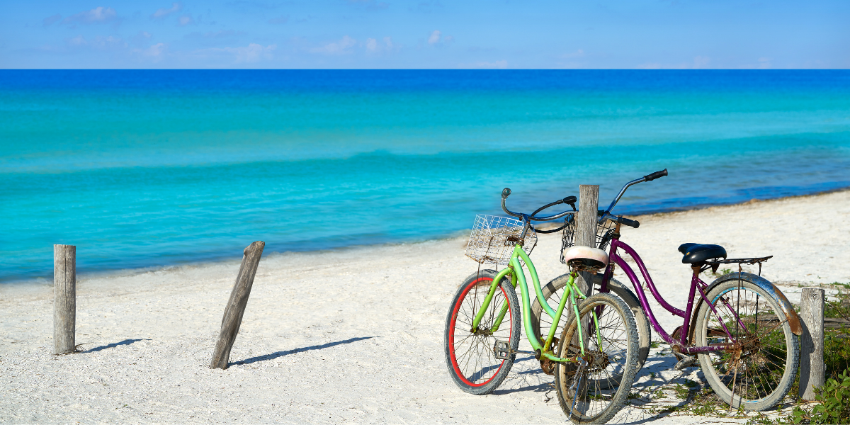 things to do in Isla Holbox, ride a bike