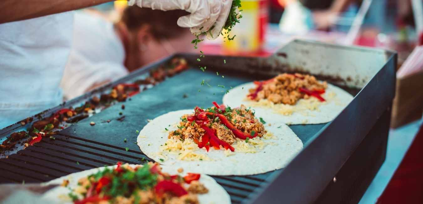 Mexican tacos streetfood Mexico travel tips