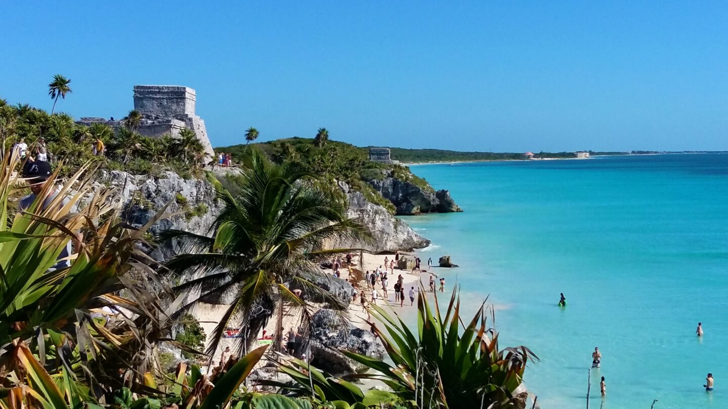 Tulum Ruins The best vacation spots in Mexico