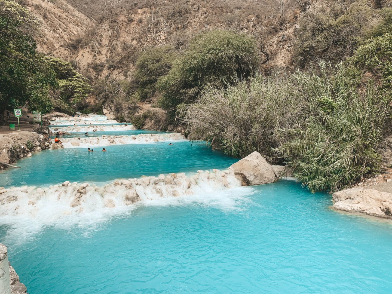 Grutas Tolantongo river