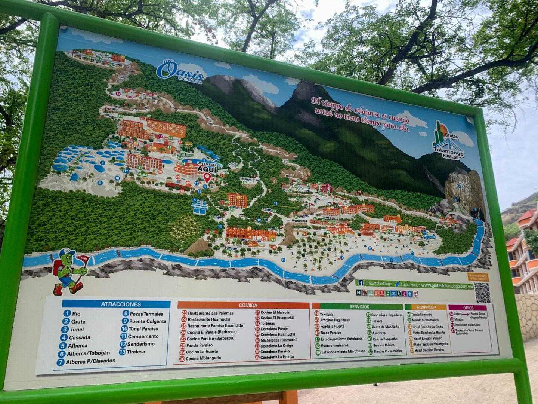 Tolantongo map