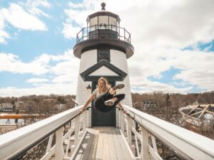 Blogging camera review-lighthouse-USA vacation