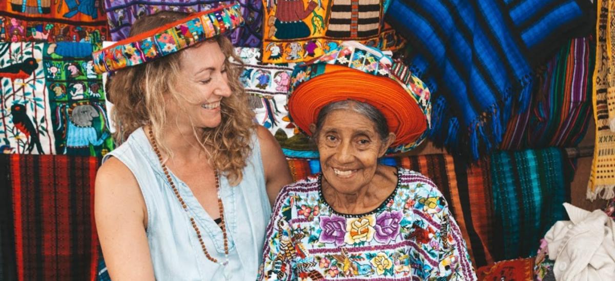 Guatemalan Textiles at Lake Atitlan