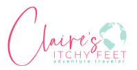 Main Claire's Itchy Feet logo